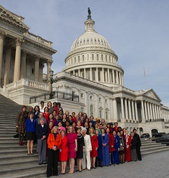 Women U.S. Representatives of the 113th Congress
