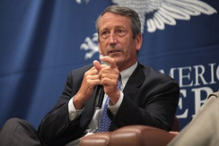 Former Rep. Mark Sanford announced his campaign on September 8, 2019. He withdrew from the race two months later.