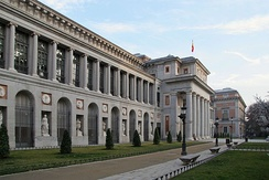 The Museo del Prado in Madrid (est. 1785).