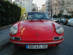 The Porsche 912, from the 1960s