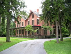 Rutherford B. Hayes House, National Historic Landmark in Sandusky County