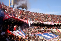 June 11 Stadium is the home stadium of both Al Ahly and Al Ittihad, and was the venue of the 1982 African Cup of Nations Final.