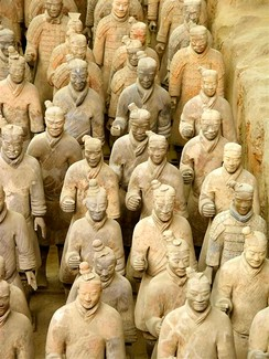 Terracotta army, China, c. 210 BCE