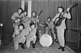 The Spiders in 1966