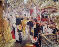 Coronation by Valentin Serov