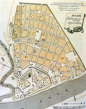 План губернского города Ярославля по состоянию на 1799 год