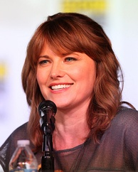 Lucy Lawless, New Zealand actress.