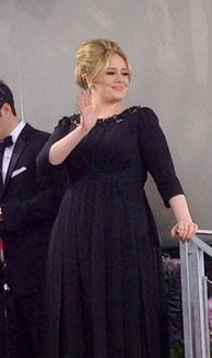 Adele became the first UK female to have three number one songs from the same album and have 3 top 10 songs in the same week on Billboard Hot 100.