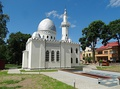 Mosque, built in Kaunas in 1930, quincentennial year of Vytautas the Great passing