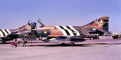 311th TFTS F-4C-19-MC Phantom 63-7584, marked as Wing Commander's aircraft. Now at McChord Air Museum, Washington.