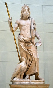 Zeus was the King of the ancient Greek dodekatheon.