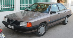 Audi 100 C3, sold as the Audi 5000 in the U.S.