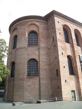 The Aula Palatina of Trier, a basilica constructed during the reign of the Roman emperor Constantine I (r. 306–337 AD)