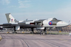 Vulcan XH534 modified for the reconnaissance role in 1977