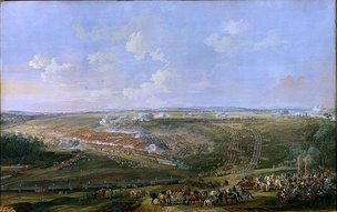 The Battle of Fontenoy between the French and the British, by Louis-Nicolas van Blarenberghe