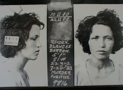 Blanche never carried a gun; she was convicted of attempted murder and served six years.
