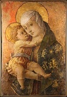 Carlo Crivelli, Madonna with Child, tempera on wood, transferred to canvas, 1470