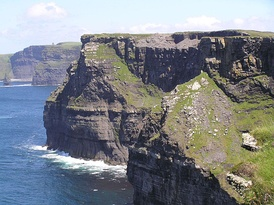 The Cliffs of Moher were used as the exterior of the Horcrux Cave.[36]