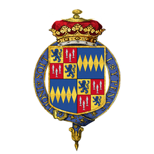 Coat of Arms of Hugh Algernon Percy, 10th Duke of Northumberland