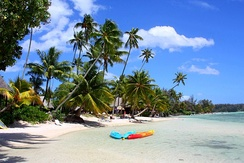Tourism is an important source of income for French Polynesia.