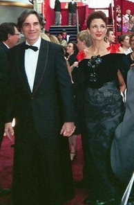 Day-Lewis and Rebecca Miller at the 80th Academy Awards