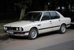 BMW E28 524td, the first mass-produced passenger car with an electronically controlled injection pump