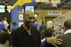 Ed O'Bannon, a member of the 1995 Championship team, was player-of-the-year