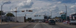 Main Highway in Gilmer, Texas (US-271)