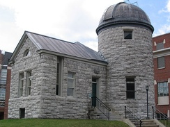 Holden Observatory, the second-oldest building in the university.[101]