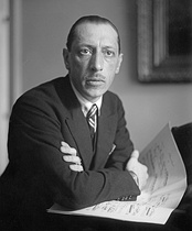 Russian composer Igor Stravinsky (1882–1971), one of the famous composers signed by Boosey & Hawkes.