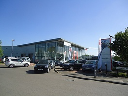 An Inchcape dealership in Guildford