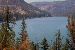 Lake Billy Chinook, Deschutes National Forest, Oregon