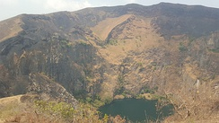 Mount  Mbapit crater lake, Cameroon