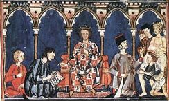 Alfonso X, pretender to the Holy Roman Empire crown and king of the Crown of Castile