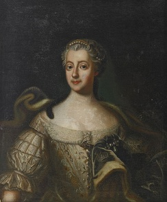 Louisa Ulrika of Prussia, Queen of Sweden, the instigator of the Coup of 1756.
