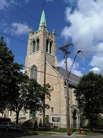 Norwegian Lutheran Memorial Church in Minneapolis, Minnesota, built in 1922.
