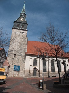 St Aegidien church