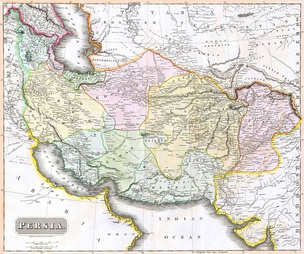 Persia at the beginning of the Great Game in 1814