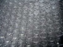 Air-bubble packing, popularly known by the brand name Bubble Wrap