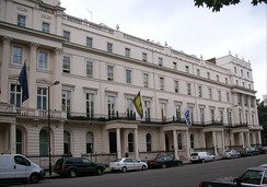The former Royal College of Psychiatrists, Belgrave Square