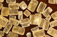 Кристаллы коричневого(нерафинированного тростникового) сахара