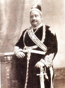 Sir Khawaja Salimullah, an influential Bengali aristocrat and British ally, who strongly favoured the creation of Eastern Bengal and Assam