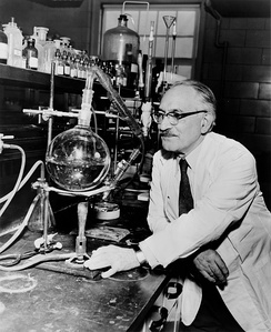 Prof. Selman A. Waksman (B.Sc. 1915), who was awarded the Nobel Prize in Medicine for developing 22 antibiotics—most notably Streptomycin—in his laboratory at Rutgers University