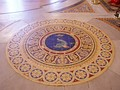 Detail of floor, Main Hall, St. George's Hall, Liverpool