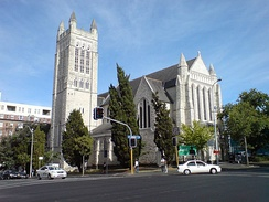 St Matthew-in-the-City, a historic Anglican church in the Auckland CBD