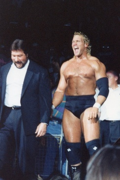 DiBiase managed many wrestlers in his Million Dollar Corporation stable, including Sycho Sid.