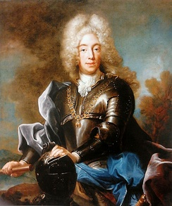 The young Charles Albert, 1717-1719, Joseph Vivien, Royal Castle in Warsaw