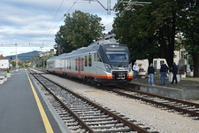 A train of Railways of Montenegro