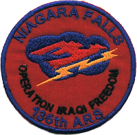 136th EAS Operation Iraqi Freedom patch, 2009