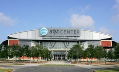 AT&T Center, home of the NBA's Spurs